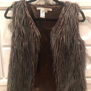 Max Studio Faux Fur Vest